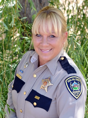 Vice-President Deputy Michelle Ugalde, Dona Ana County Sheriff's Office, NM